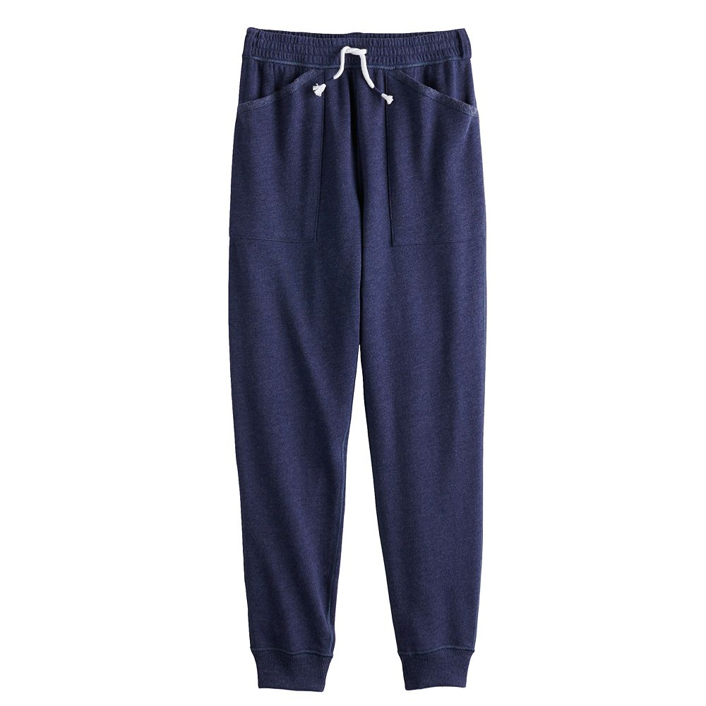 Girls 4-20 SO® Adaptive French Terry Joggers