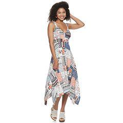 41ce038ed3ae2 Juniors' American Rag Handkerchief Midi Dress