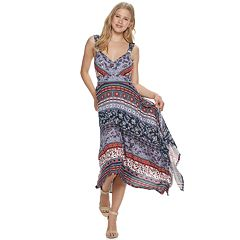 c72aeaf5e Juniors' American Rag Handkerchief Midi Dress