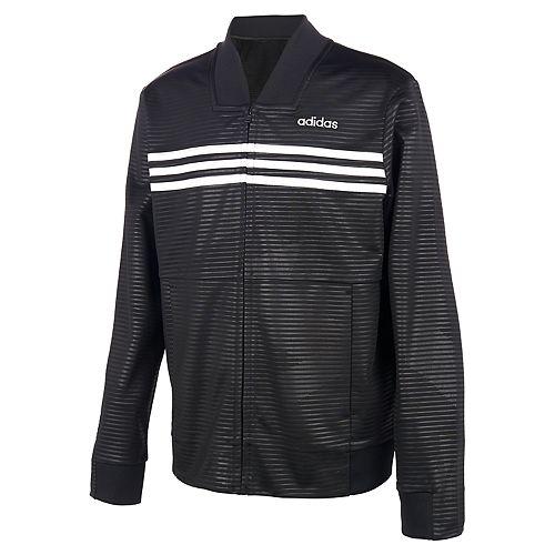 Boys 4-7 adidas Embossed Tricot Jacket