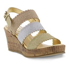 Circus by Sam Edelman Eliza Natz Girls' Wedge Sandals