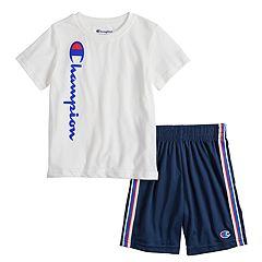 Boys 4-7 Champion Graphic Tee & Shorts Set