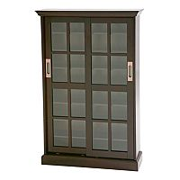 Windowpane Media Cabinet