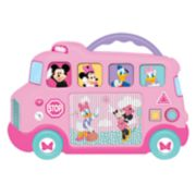 Disney's Minnie Mouse & Friends Interactive School Bus Toy by Kiddieland
