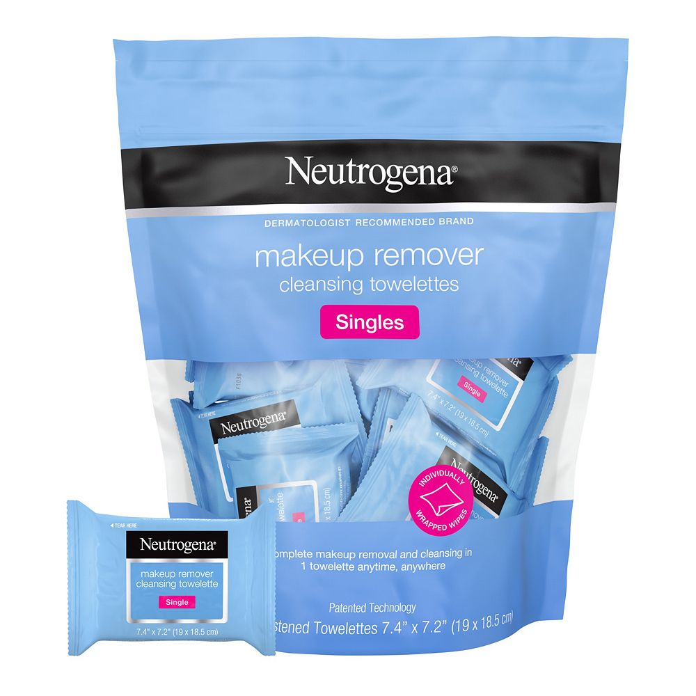 Neutrogena 20-Pack Makeup Remover Cleansing Towelette Singles