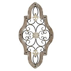 Stratton Home Decor Scroll Gate Wall Art