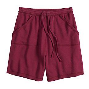 Juniors' SO® Adaptive French Terry Midi Shorts