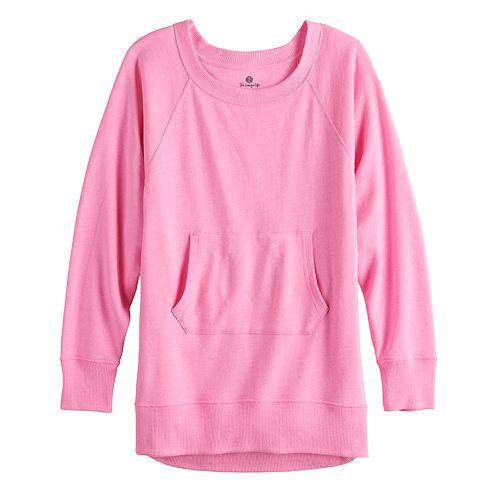 Juniors' SO® Adaptive French Terry Sweatshirt