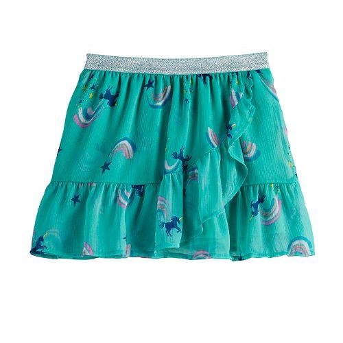 Girls 4-12 SONOMA Goods for Life™ Ruffled Chiffon Skort