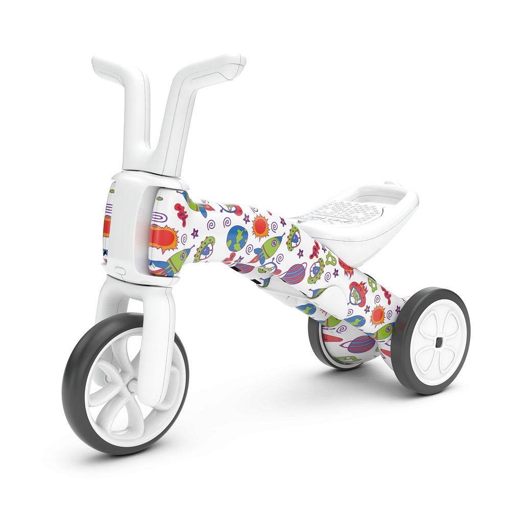 Chillafish Bunzi Patterned 2-in-1 Balance Bike and Tricycle