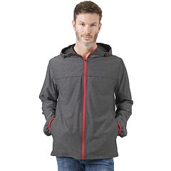 ca336564 Men's Mountain and Isles Stretch Lightweight Packable Hooded Rain Jacket