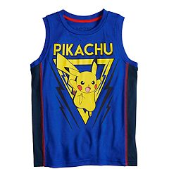 72451c44f8 Pokemon Pikachu Striped Shorts. Boys 4-12 Jumping Beans® Pikachu Graphic  Tank