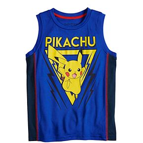 Boys 4-12 Jumping Beans® Pikachu Graphic Tank