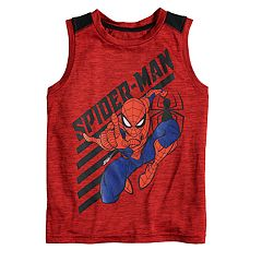 d4be9c04240db0 Boys 4-12 Jumping Beans® Spider-Man Graphic Tank