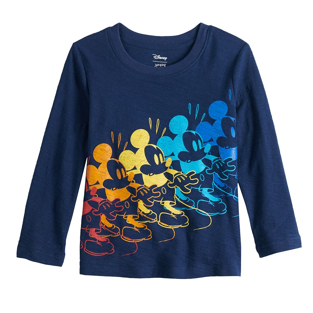 Disney's Mickey Mouse Toddler Boy Long Sleeve Graphic Tee by Jumping Beans®