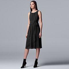 eabbee8df69 Women s Simply Vera Vera Wang Knot-Waist Dress