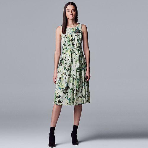Women's Simply Vera Vera Wang Knot-Waist Dress