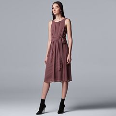 1f7beeb8681 Women s Simply Vera Vera Wang Knot-Waist Dress