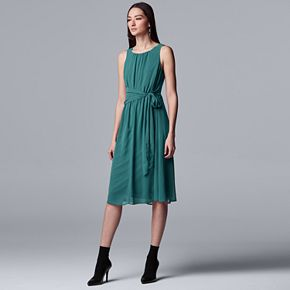 Women's Simply Vera Vera Wang Knot-Waist Dress
