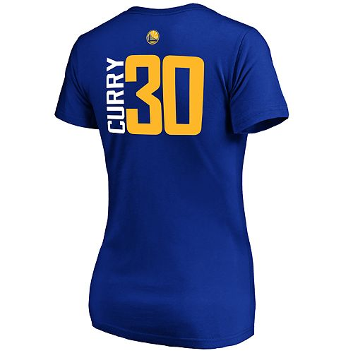 Women's Majestic Golden State Warriors Stephen Curry Tee