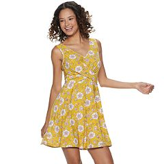 2a8e7155a3 Juniors' Candie's® Crossover Knit Dress