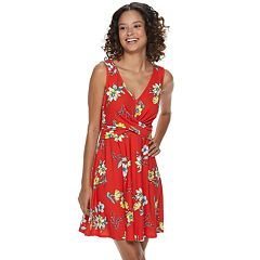 afb432b93 Juniors' Candie's® Crossover Knit Dress