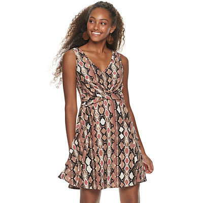 Juniors' Candie's® Crossover Knit Dress