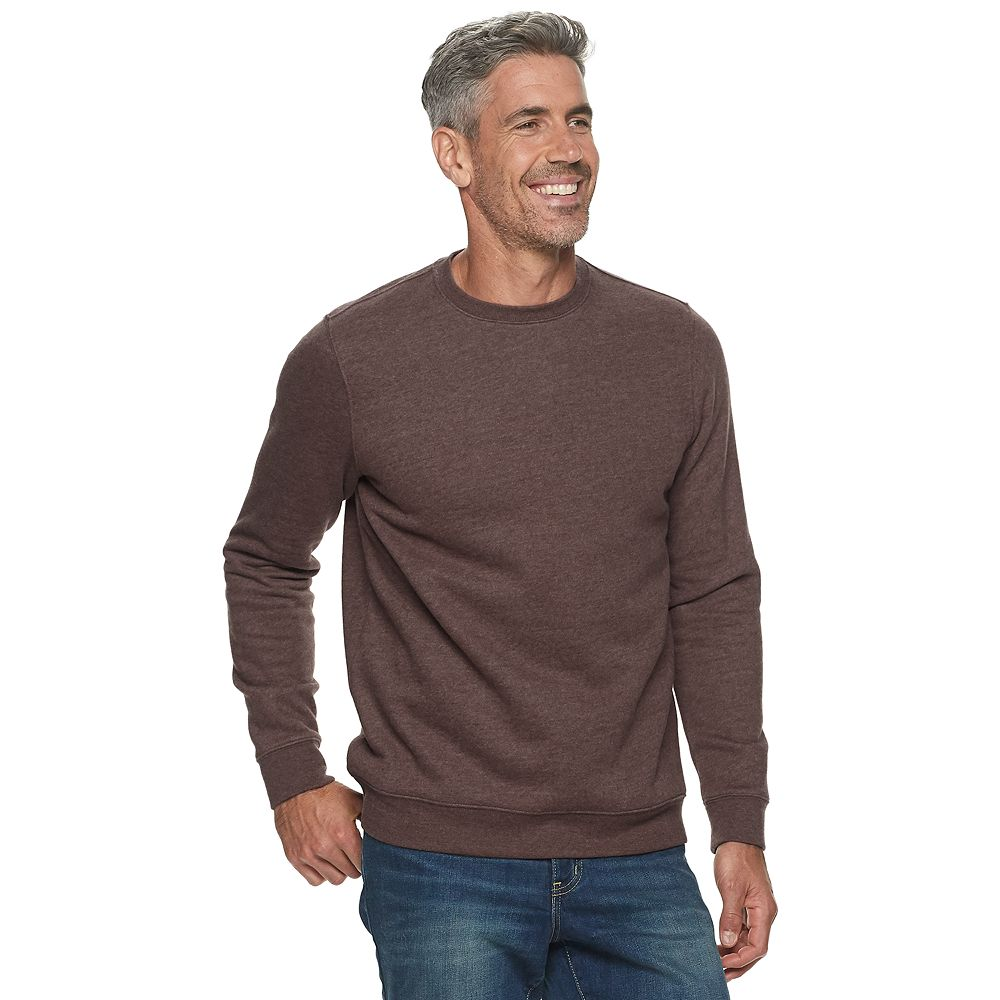 Men's Croft & Barrow® Fleece Crewneck Sweatshirt