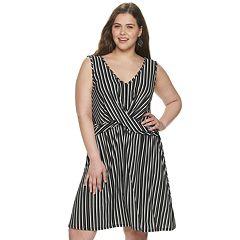 540fd778b Juniors' Plus Candie's® Crossover Knit Dress