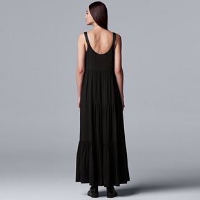 Women's Simply Vera Vera Wang Tiered Tank Dress