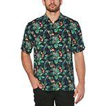 Men's Cubavera Classic-Fit Parrot Print Button-Down Shirt
