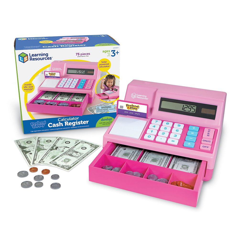 Learning Resources Pretend & Play Calculator Cash Register