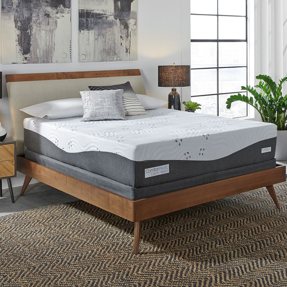 ComforPedic Loft from Beautyrest 10-in. Choose Your Comfort Gel Memory Foam Mattress Set