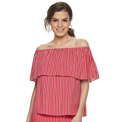 Women's Jennifer Lopez 3-Way Off The Shoulder Top