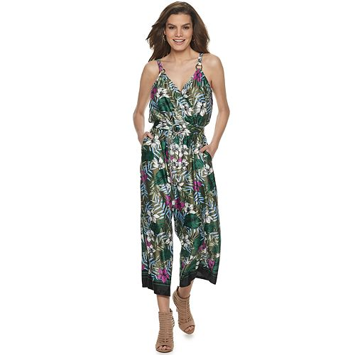 Women's Jennifer Lopez O-Ring Jumpsuit