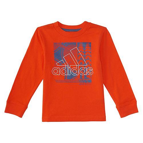 Boys 4-7 adidas Long-Sleeve Ball Tee