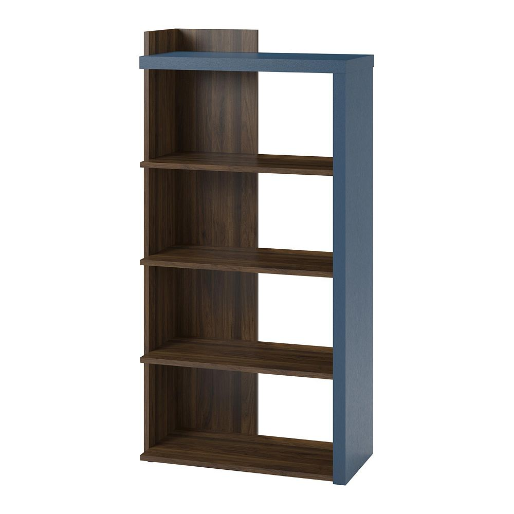 Novogratz Xavier 5 Shelf Bookcase