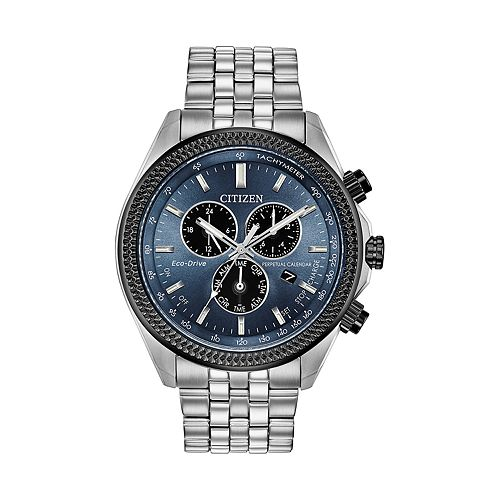 Citizen Eco-Drive Men's Brycen Stainless Steel Chronograph Watch - BL5568-54L