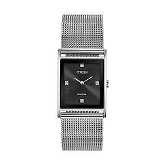 Citizen Eco-Drive Men's Axiom Diamond Accent Watch - BL6000-55E