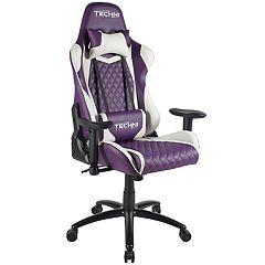 Techni Sport TS-52 Ergonomic PC Gaming Chair, Purple