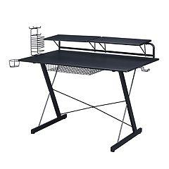 Techni Sport Carbon Computer Gaming Desk