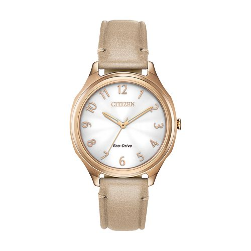 Drive from Citizen Eco-Drive Women's LTR Leather Watch - EM0753-01A