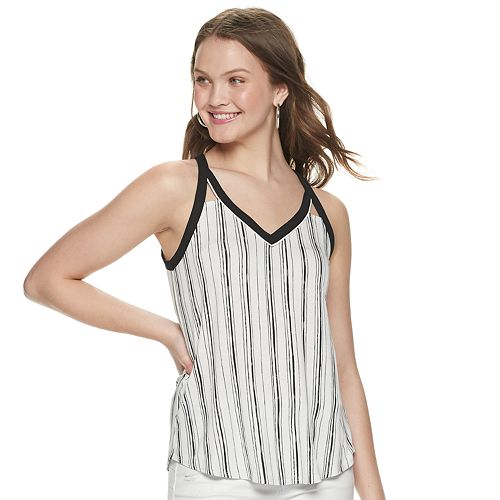 Juniors' Candie's® Cutout Tank Top