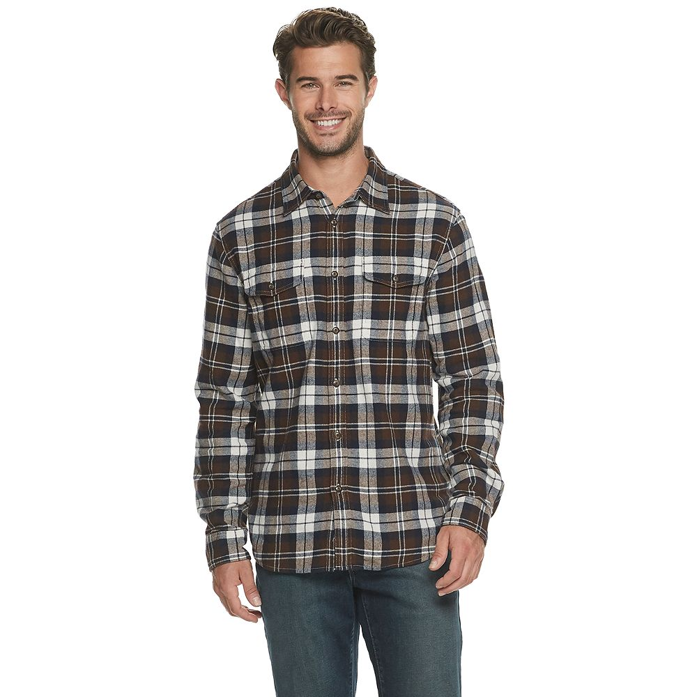 Men's SONOMA Goods for Life® Super Soft Flannel Button-Down Shirt