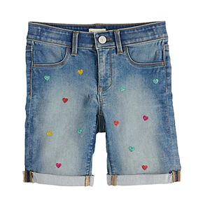 Girls 7-16 & Plus Size SO® Cuffed Bermuda Shorts