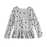 Disney's Minnie Mouse Girls 4-12 Peplum-Hem Tee by Jumping Beans®