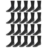 Boys 4-20 Tek Gear 20-Pack Lightweight Performance Crew Socks