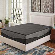 Comfort Escape Ebonite Memory Foam Mattress Topper