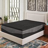 Comfort Escape 5-Zone Ebonite Memory Foam Mattress Topper