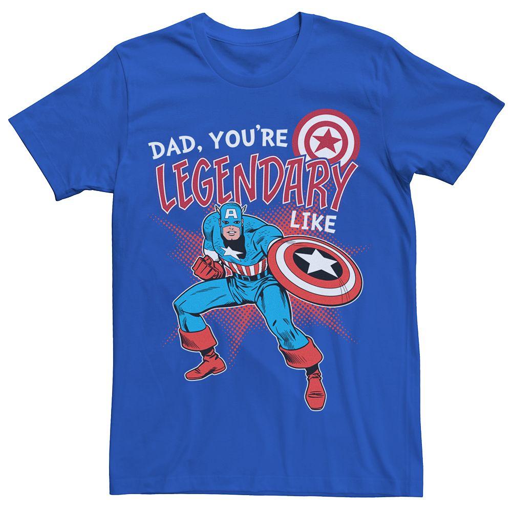 Men's Marvel Comics Legendary Dad Tee